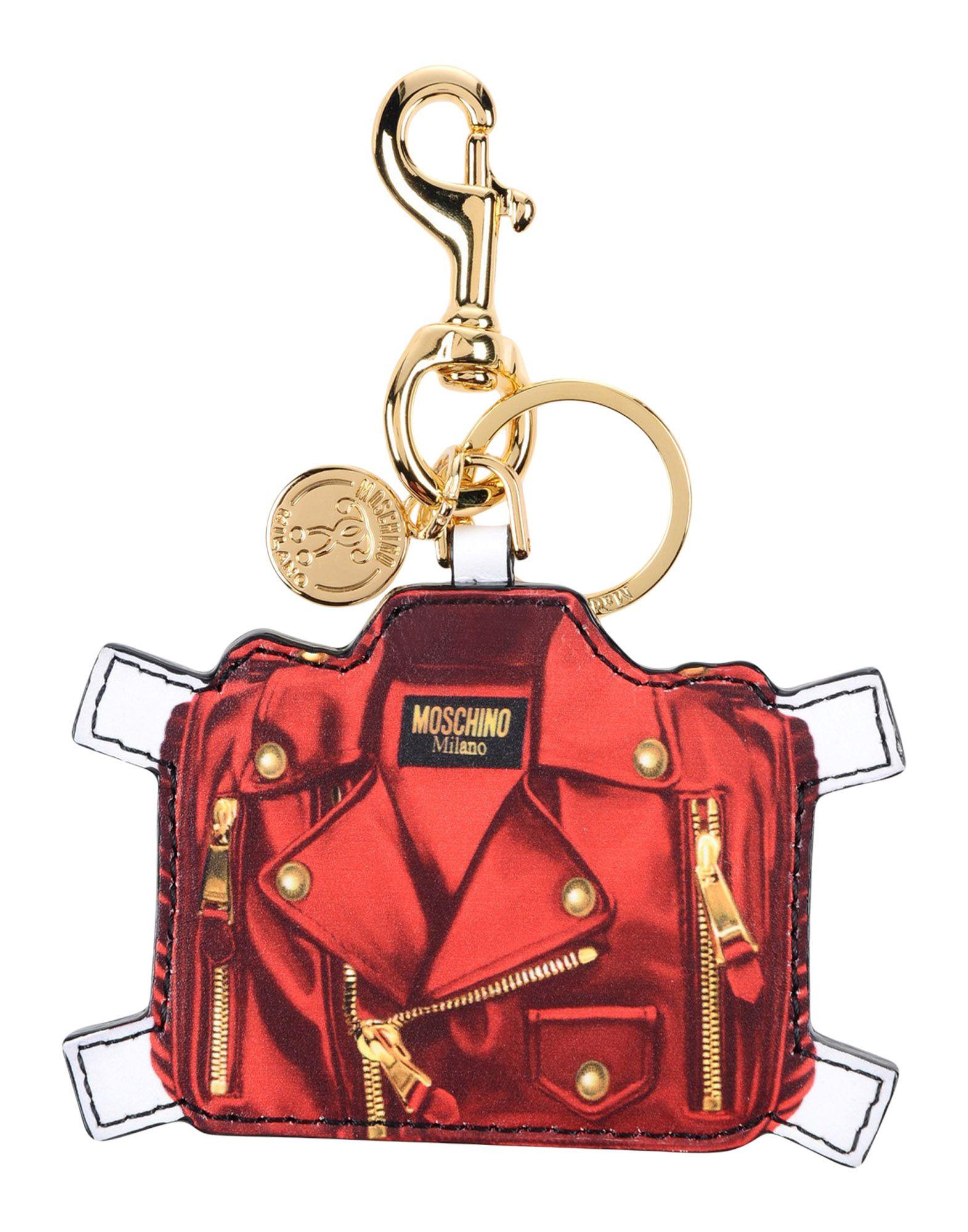 MOSCHINO Брелок для ключей брелок для сумочки и ключей русские подарки брелок для сумочки и ключей