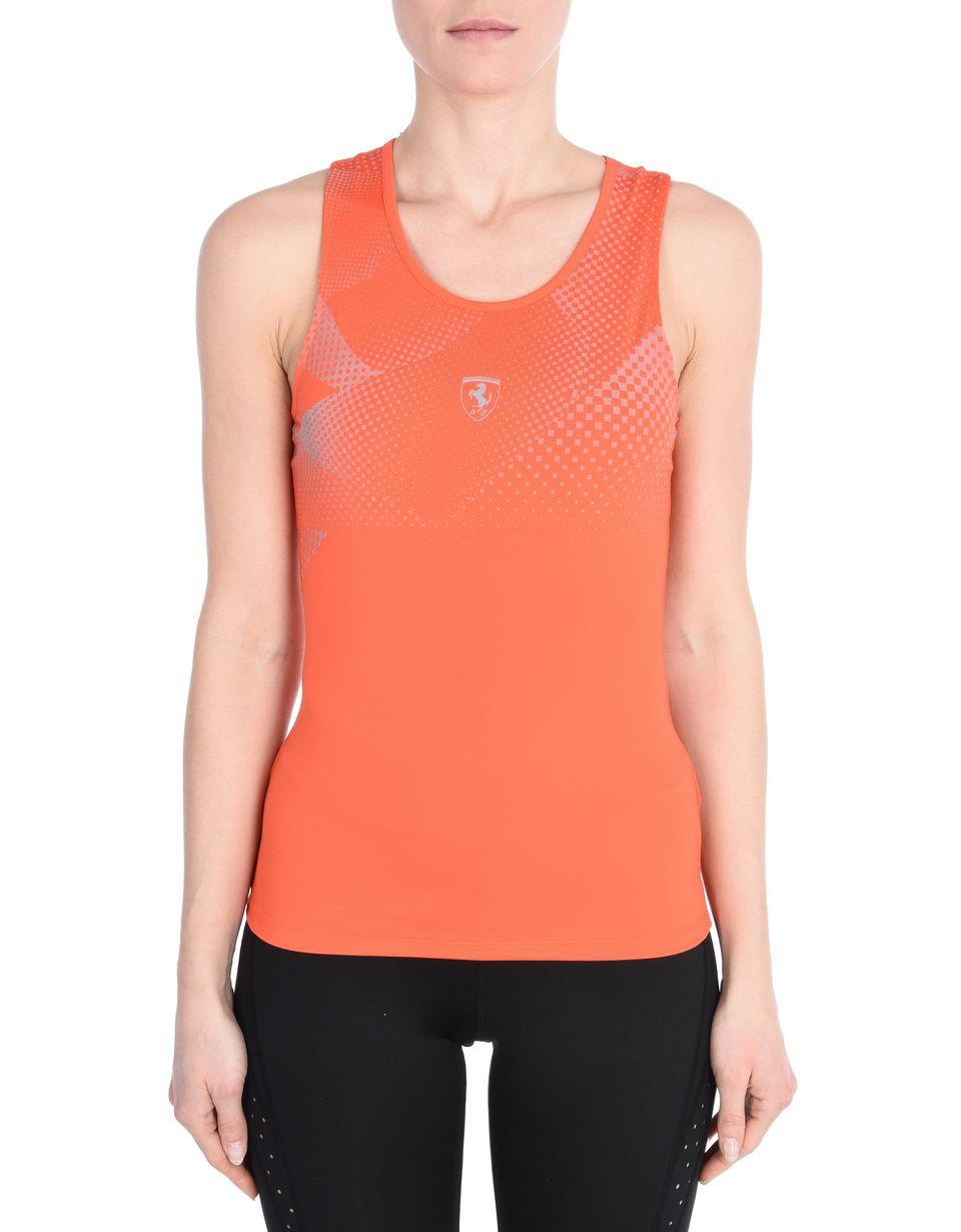 Scuderia Ferrari Online Store - Women's sports top in breathable fabric -