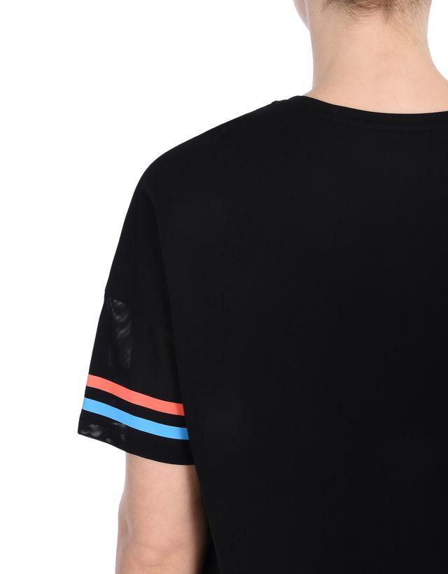 Scuderia Ferrari Online Store - Maglia maniche a pipistrello con Scudetto - T-shirt manica corta