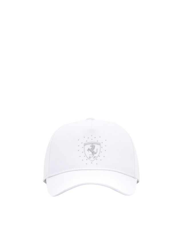 Scuderia Ferrari Online Store - Girl's Scuderia Ferrari cap with glitter Shield -