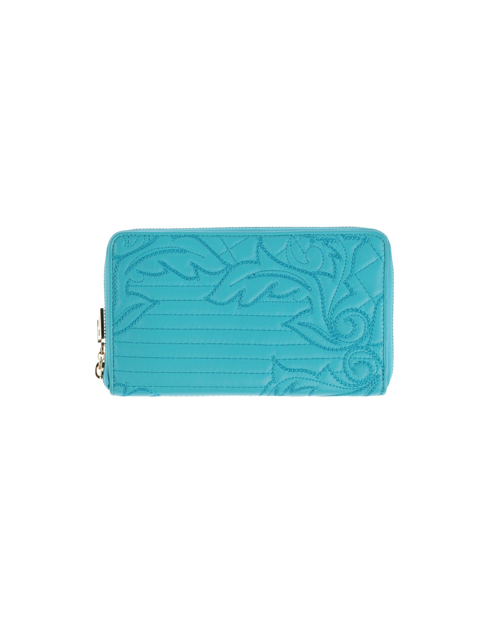 GIANNI VERSACE Wallet in Turquoise