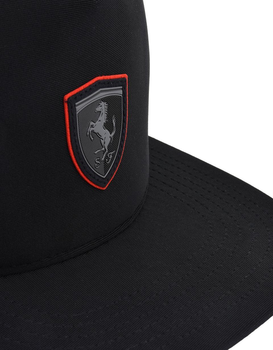 Scuderia Ferrari Online Store - Men's neoprene cap with flat visor - Baseball Caps