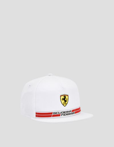 Kid's cotton Scuderia Ferrari cap with Icon Tape
