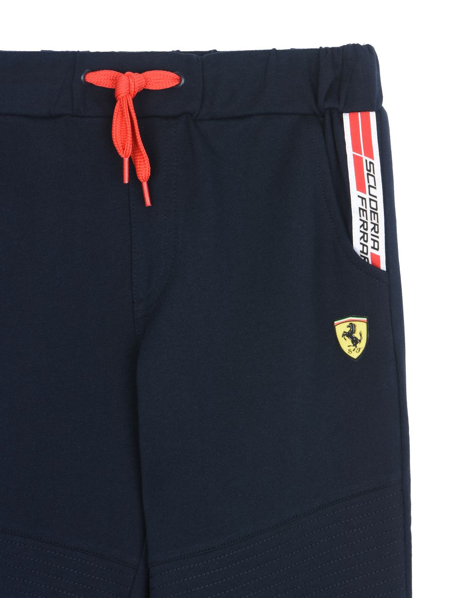 Scuderia Ferrari Online Store - Sweatpants for boys with Scuderia Ferrari Icon Tape - Joggers