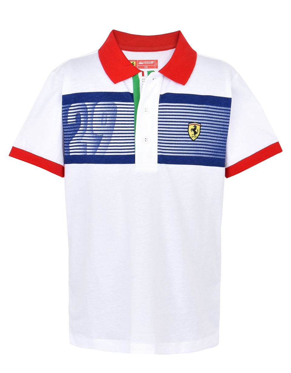 Scuderia Ferrari Online Store - Kids short-sleeve polo shirt - Short Sleeve Polos