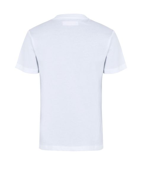 Cotton jersey T-shirt for teens with print