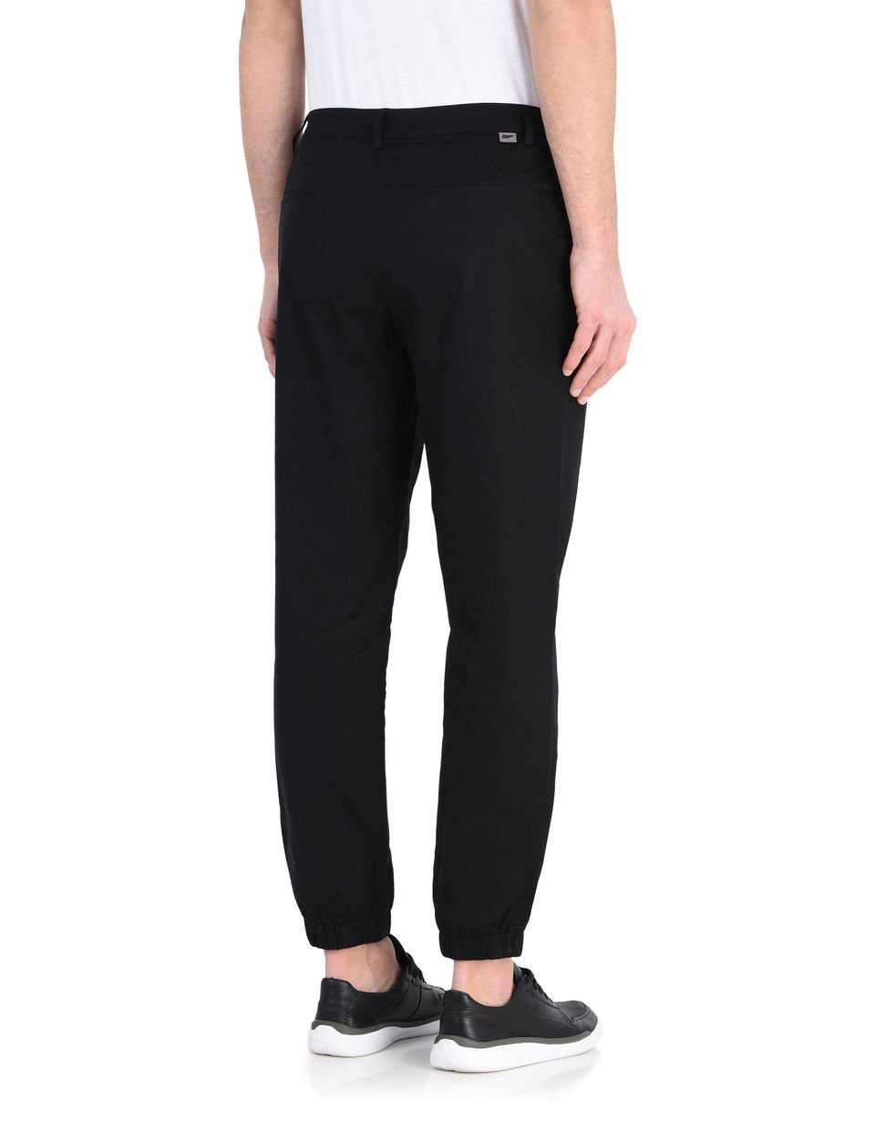 Scuderia Ferrari Online Store - Men's stretch poplin tracksuit bottoms - Chinos