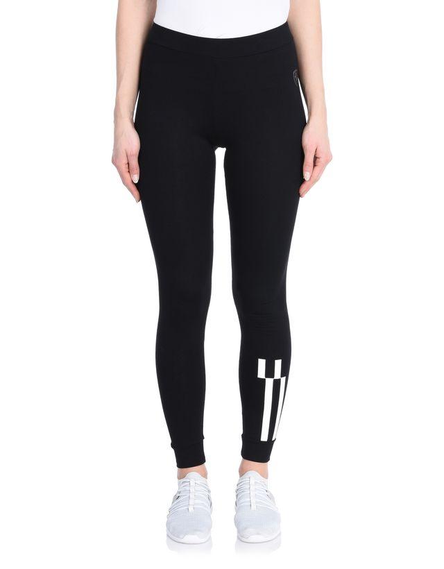 Scuderia Ferrari Online Store - 女士弹力棉质格纹紧身裤 - 长筒袜与瑜伽
