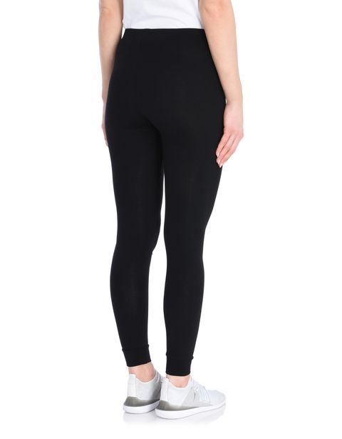 Women's stretch cotton chequerboard leggings