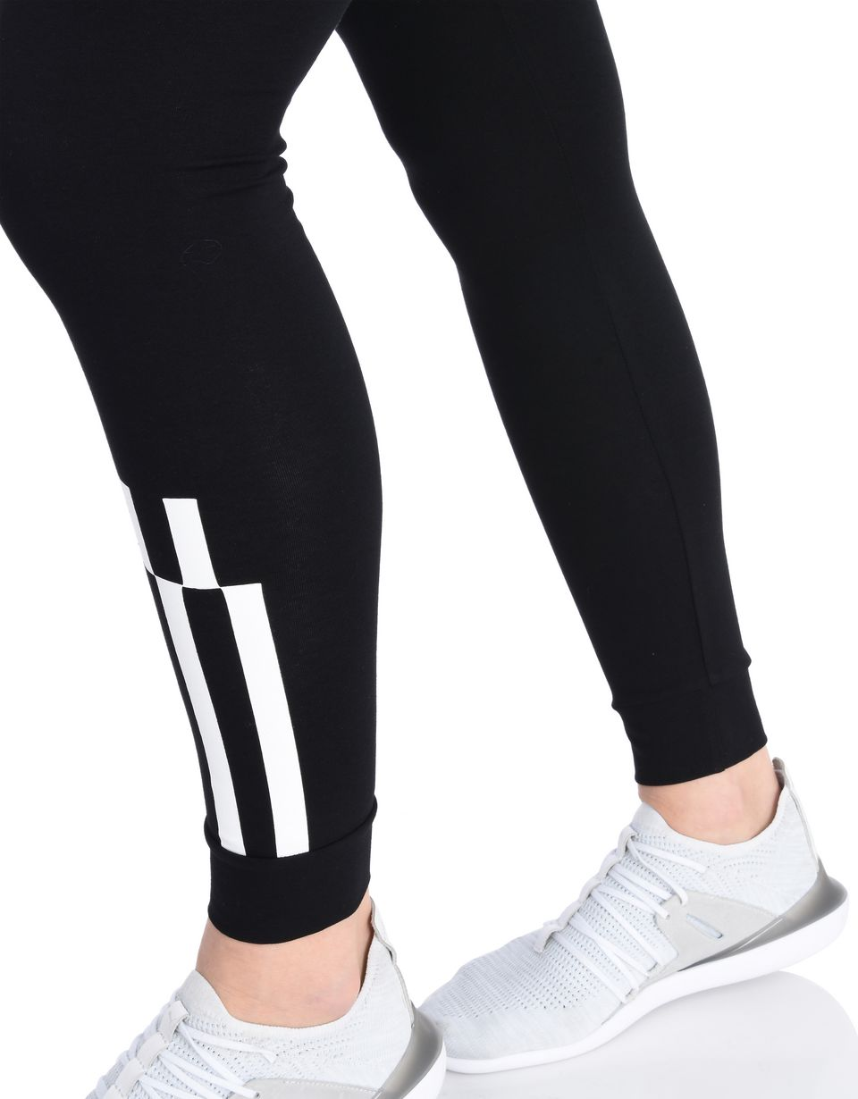 Scuderia Ferrari Online Store - Women's checkerboard leggings in stretch cotton - Tights & Yoga Pants