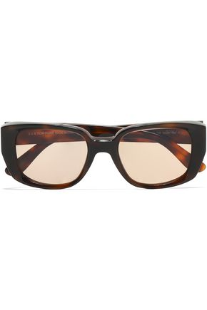 TOM FORD D-frame tortoiseshell acetate sunglasses