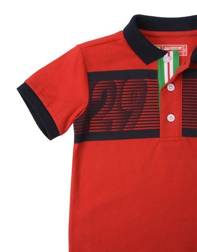 Scuderia Ferrari Online Store - Kids short-sleeve polo shirt - Short Sleeve Polos