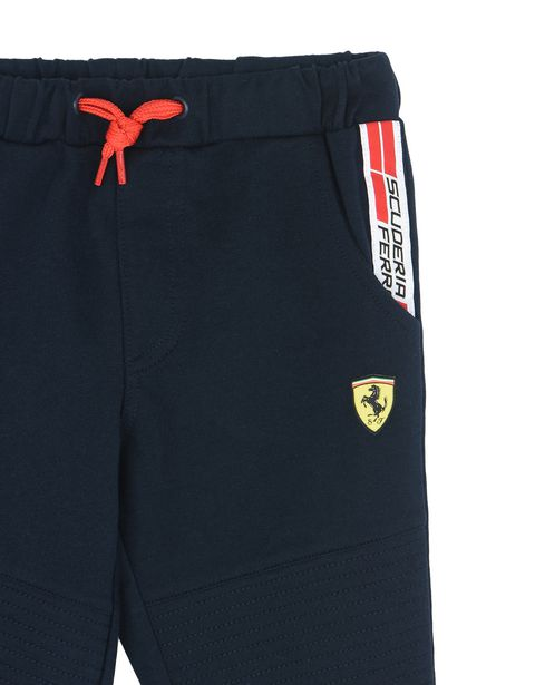 Scuderia Ferrari Online Store - Pantaloni tuta ragazzo con Icon Tape  Scuderia Ferrari - Pantaloni da Jogging