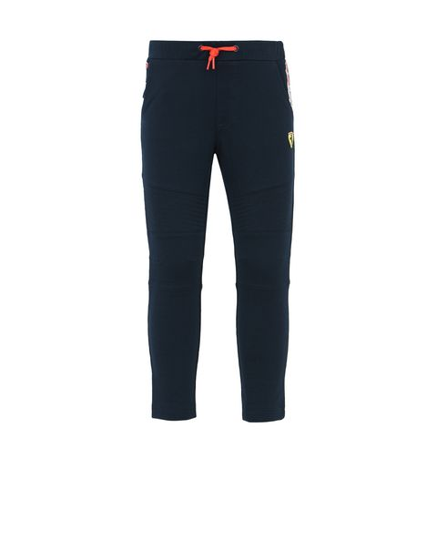 Tracksuit bottoms for teens with Scuderia Ferrari Icon Tape