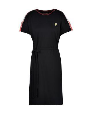 Scuderia Ferrari Online Store - Dress with Scuderia Ferrari Icon Tape -