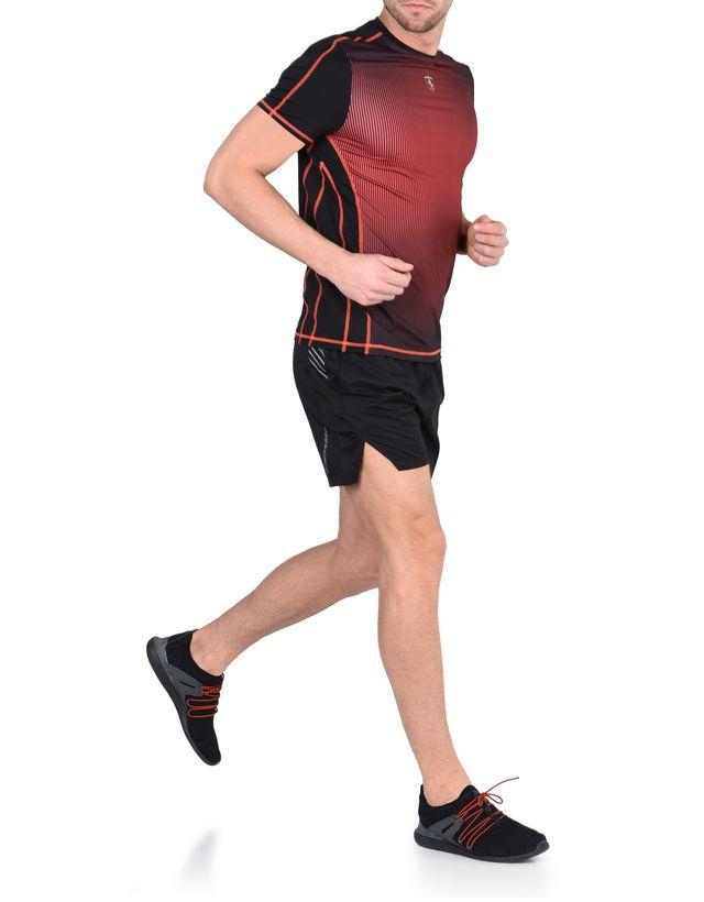 Scuderia Ferrari Online Store - Scuderia Ferrari T-shirt in breathable technical fabric - Short Sleeve T-Shirts