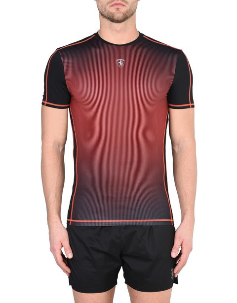 Scuderia Ferrari T-shirt in breathable technical fabric