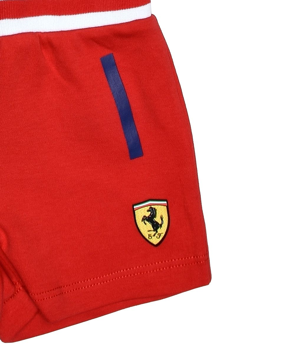 Scuderia Ferrari Online Store - Baby clothing set in cotton -