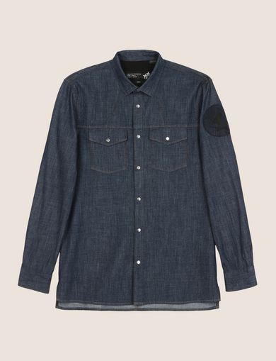MADE IN ITALY STAR PATCH WESTERN SHIRT