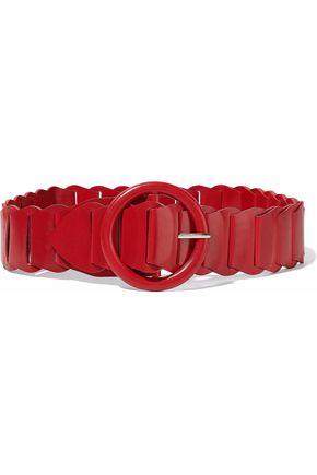 IRO Woven leather belt