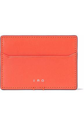 IRO Leather cardholder