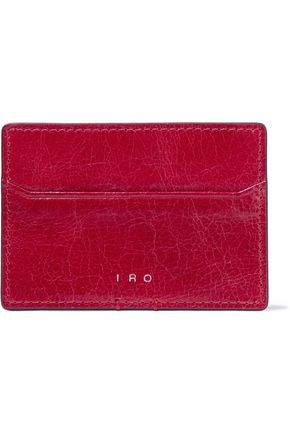 IRO Leather cardholder
