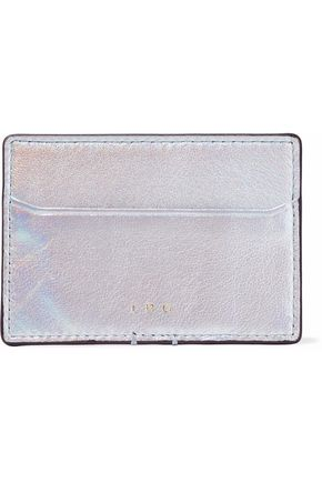 IRO Iridescent leather cardholder