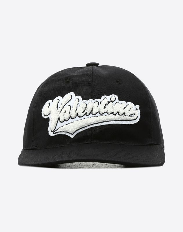 Baseball Hat with Embroidered Patch