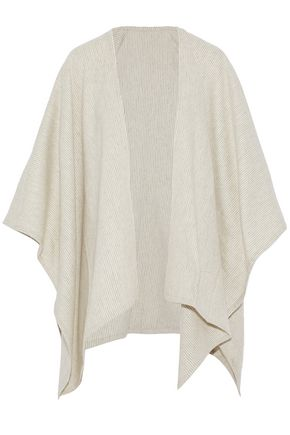 RAG & BONE Striped brushed merino wool wrap
