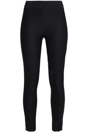 SÀPOPA Textured stretch leggings