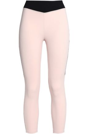 SÀPOPA Two-tone stretch leggings