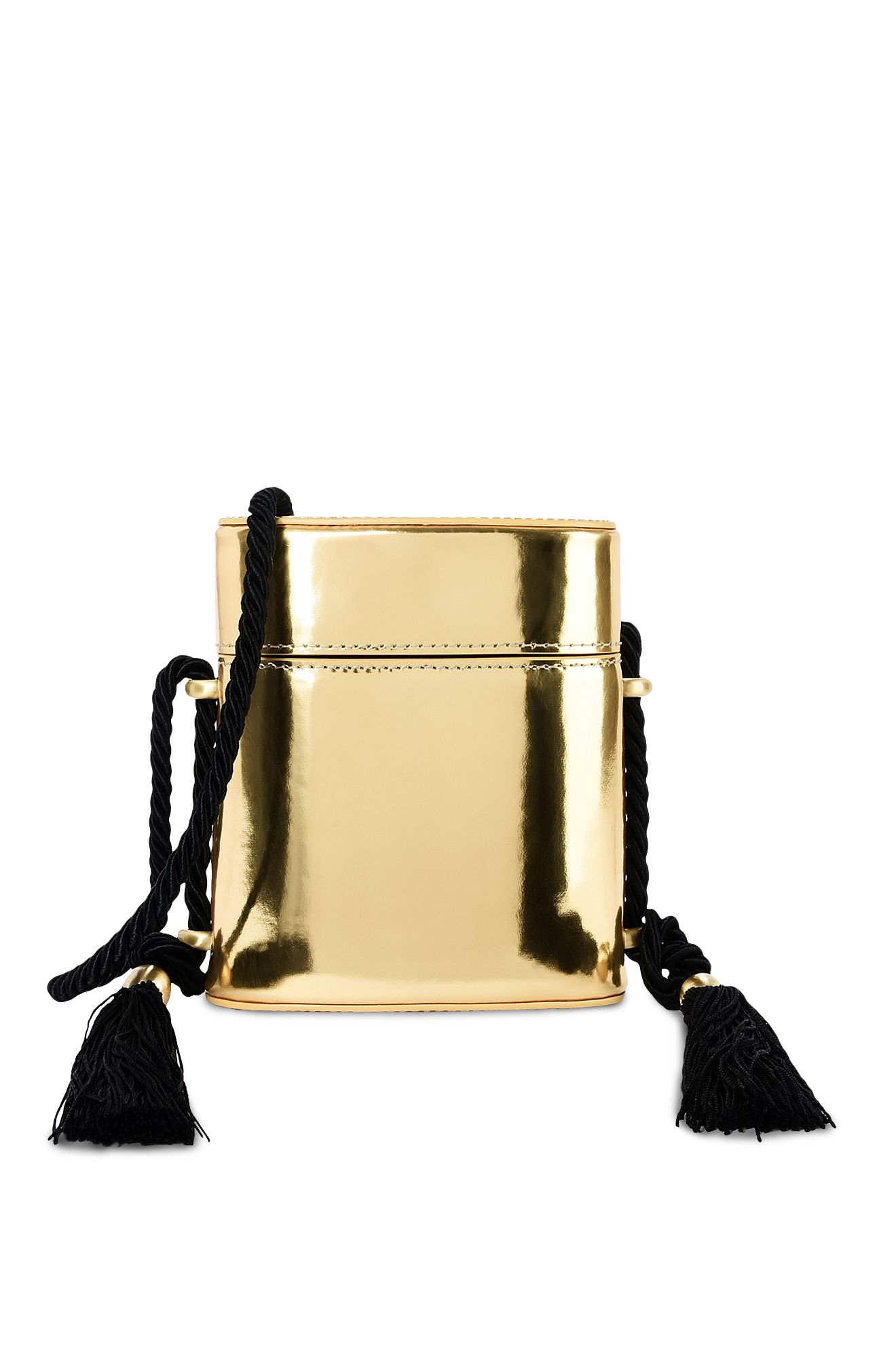 Shiny gold Mini bag