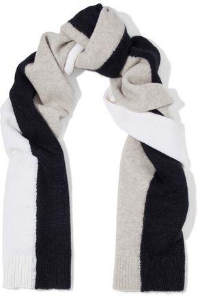 RAG & BONE Color-block wool-blend scarf