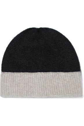 RAG & BONE Two-tone brushed knitted beanie
