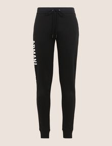 ARMANI EXCHANGE SPLIT LOGO JOGGER Fleece Trouser Woman r