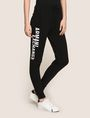 ARMANI EXCHANGE SPLIT LOGO JOGGER Fleece Trouser Woman f