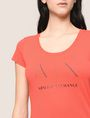 ARMANI EXCHANGE T-SHIRT CON LOGO E PERLINE T-shirt con logo [*** pickupInStoreShipping_info ***] b