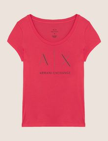 ARMANI EXCHANGE T-SHIRT CON LOGO E PERLINE T-shirt con logo [*** pickupInStoreShipping_info ***] r