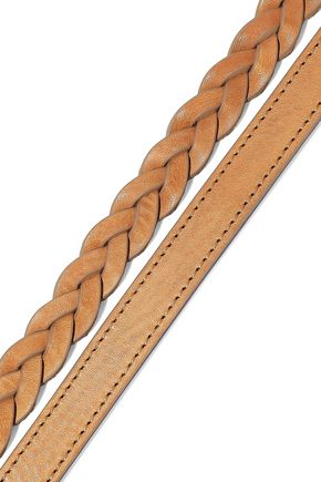 RAG & BONE Braided leather belt