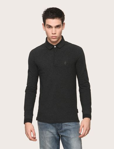 ARMANI EXCHANGE LONG SLEEVES POLO Man F