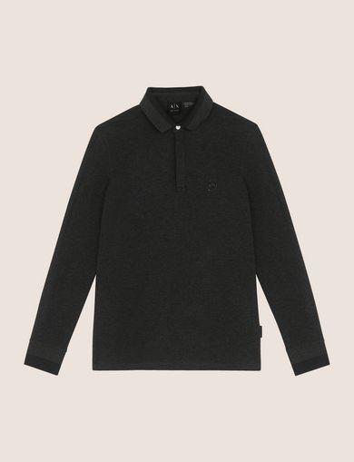 ARMANI EXCHANGE POLO DE MANGA LARGA Hombre R