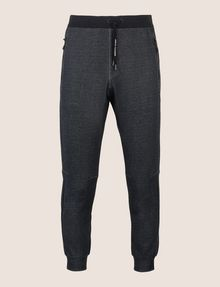 ARMANI EXCHANGE ZWEIFARBIGE SPORTHOSE MIT LOGO Fleece-Hose [*** pickupInStoreShippingNotGuaranteed_info ***] r