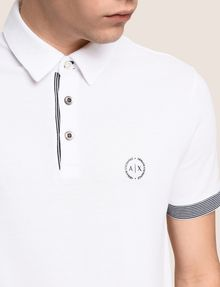 ARMANI EXCHANGE SHORT SLEEVES POLO Man b