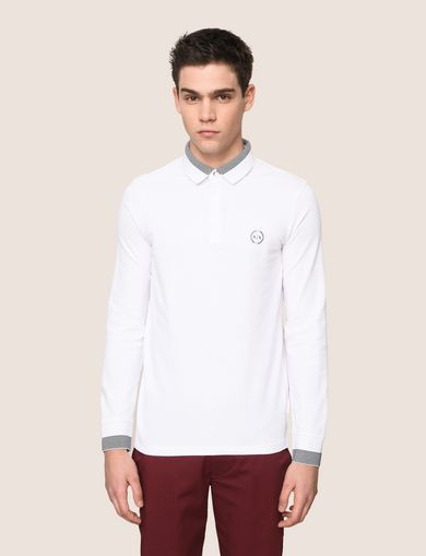 ARMANI EXCHANGE POLO DE MANGA LARGA Hombre F