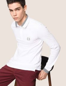 ARMANI EXCHANGE Langärmeliges Poloshirt [*** pickupInStoreShippingNotGuaranteed_info ***] a