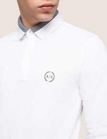 ARMANI EXCHANGE Langärmeliges Poloshirt [*** pickupInStoreShippingNotGuaranteed_info ***] b