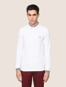 ARMANI EXCHANGE Langärmeliges Poloshirt [*** pickupInStoreShippingNotGuaranteed_info ***] f