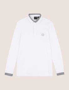 ARMANI EXCHANGE Langärmeliges Poloshirt [*** pickupInStoreShippingNotGuaranteed_info ***] r