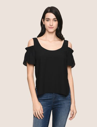 ARMANI EXCHANGE S/S Trikot-Top Damen F