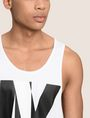 ARMANI EXCHANGE NEGATIVE SPACE RELAXED TANK Logo Tanks Man b